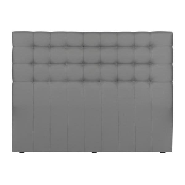 Čelo postele ve stříbrné barvě Windsor & Co Sofas Deimos, 200 x 120 cm