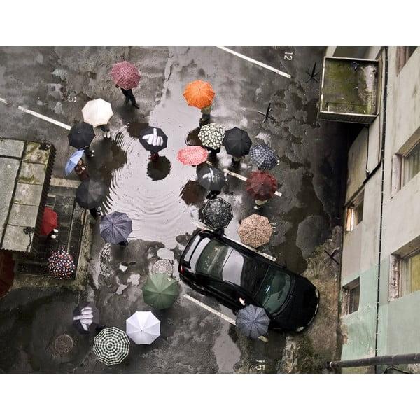 Skládací deštník Fuck the rain