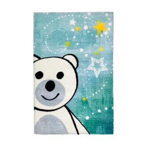 Modrý dětský koberec Obsession Bear, 170 x 120 cm
