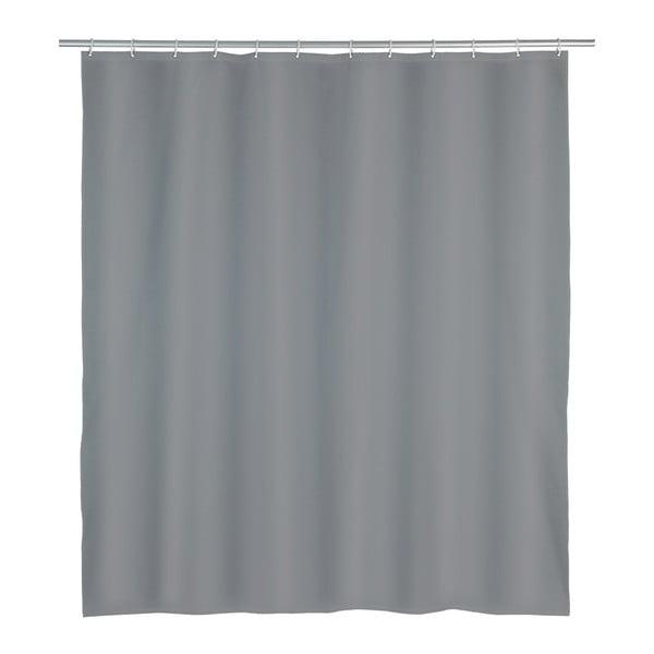 Punto szürke zuhanyfüggöny, 180 x 200 cm - Wenko