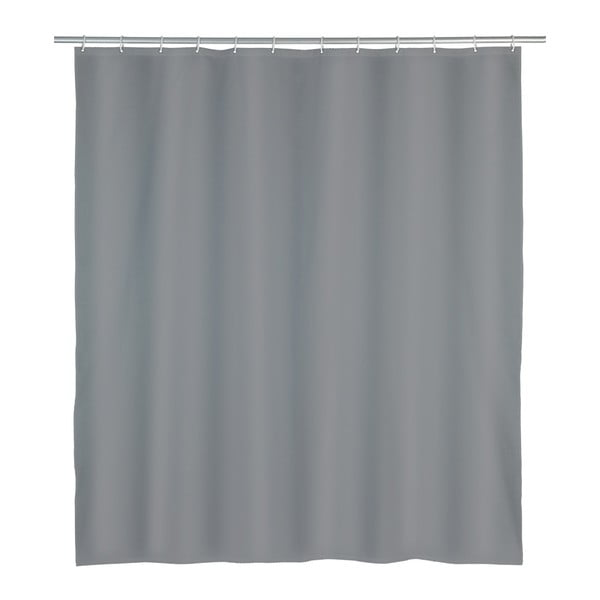 Perdea duș Wenko Punto, 180 x 200 cm, gri