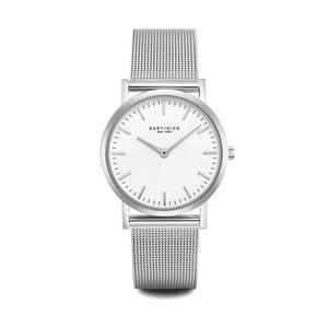 Dámské hodinky ve stříbrné barvě s bílým ciferníkem Eastside East Village