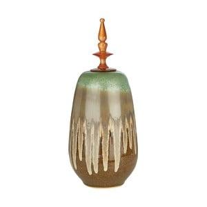 Dekorativní dóza Premier Housewares Finial, výška52cm