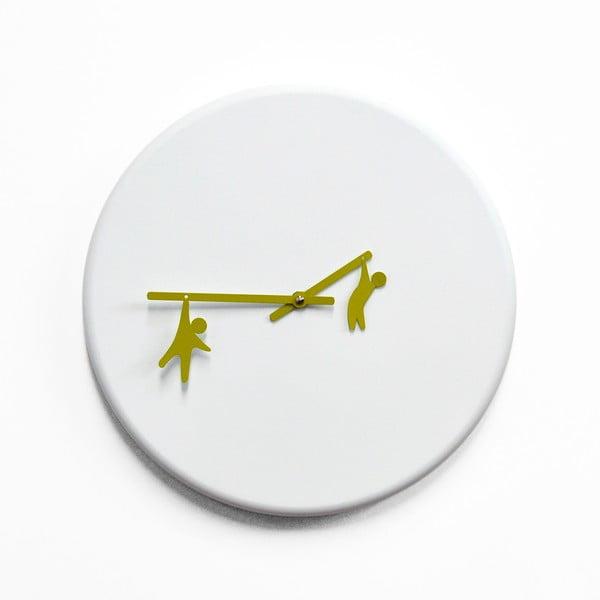 Nástěnné hodiny Time2Play, zelené