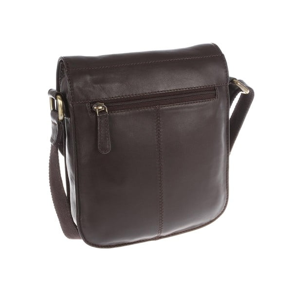 Dámská kožená taška Amarylis Brown Cross-Body