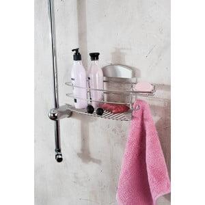 Nástěnný držák na sprchové gely bez nutnosti vrtání Compactor Gel, 35x16cm