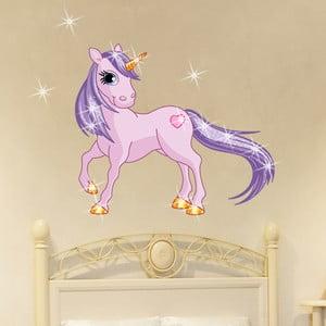 Set samolepky a 15 Swarovski krystalů Fanastick Unicorn