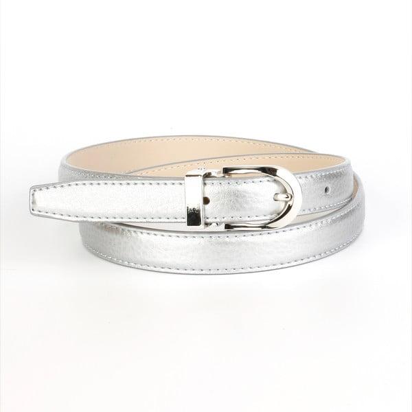 Dámský kožený pásek 13TS Silver, 90 cm