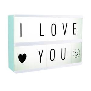 Světelný box na vzkazy Le Studio