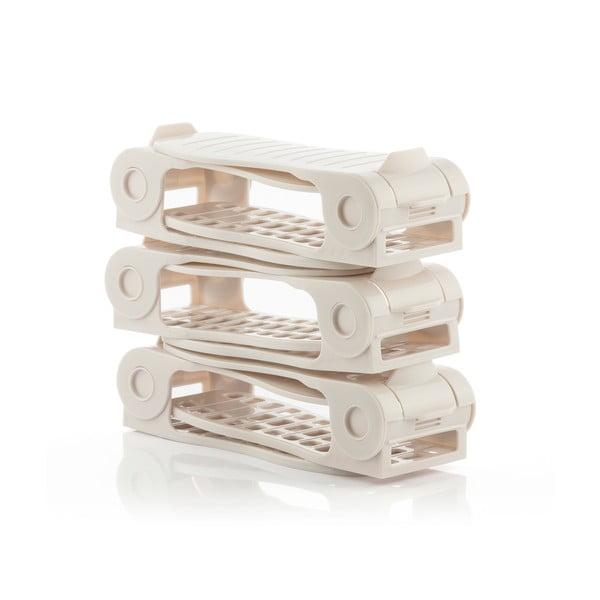 Set 6 organizatoare pentru încălțăminte InnovaGoods Rack Adjustable Slots