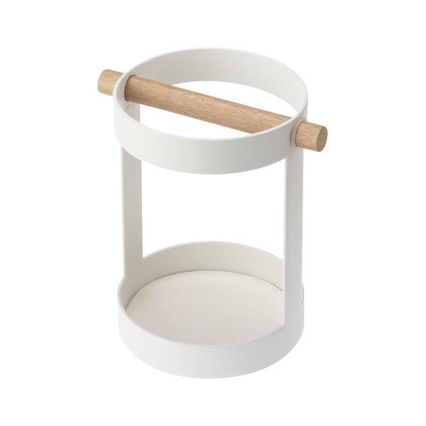 Suport ustensile de bucătărie YAMAZAKI Tosca, alb