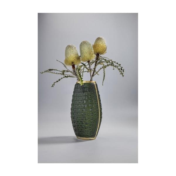 Vază decorativă Kare Design Croco, înălțime 36cm