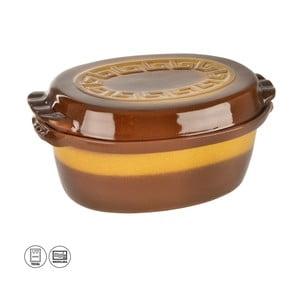 Keramický glazovaný pekáč s víkem Orion Hanah, 4,5l