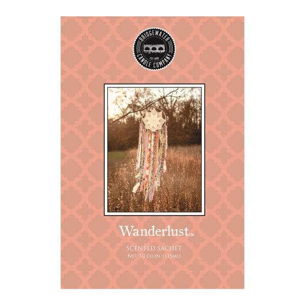 Wanderlust illatosító tasak narancsvirág, vanília, szantálfa és barack illattal - Creative Tops