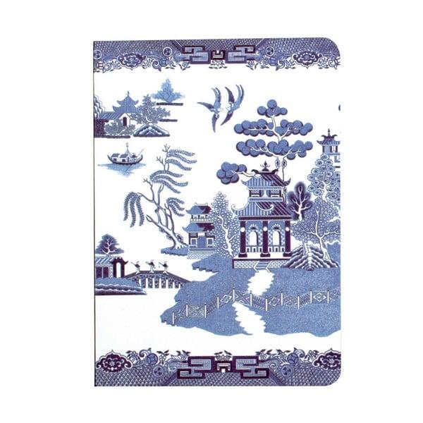 Zápisník Blue Willow, A6