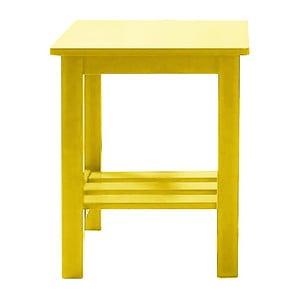Noční stolek Trend Range, žlutý
