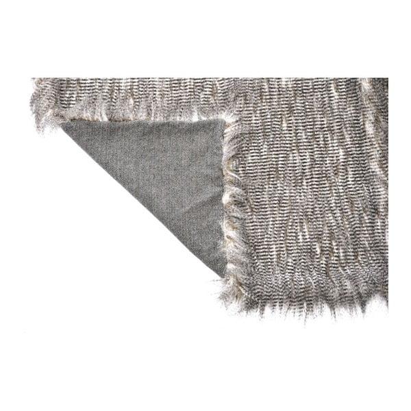 Přehoz Fur Look Grey, 130x160 cm