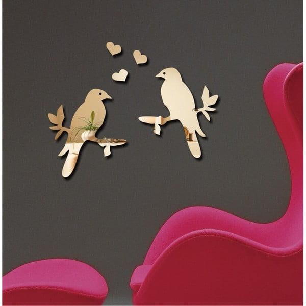 Dekorativní zrcadlo Birds