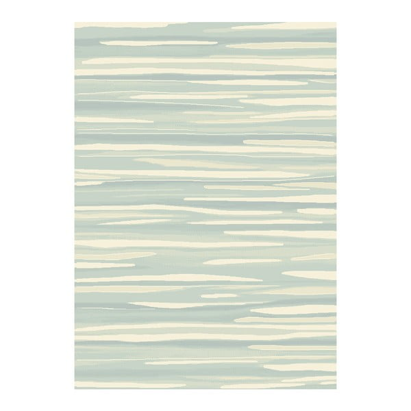 Koberec Asiatic Carpets Echo Broken Stripe Aqua, 120x170 cm