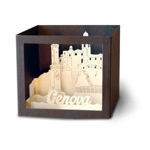 3D pohlednice W-Lamp Genova