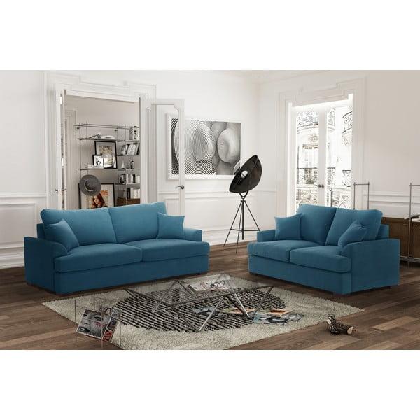 Dvoudílná sedací souprava Jalouse Maison Irina, modrá