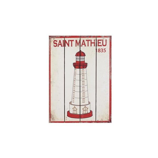 Dřevěný obraz Saint Mathieu