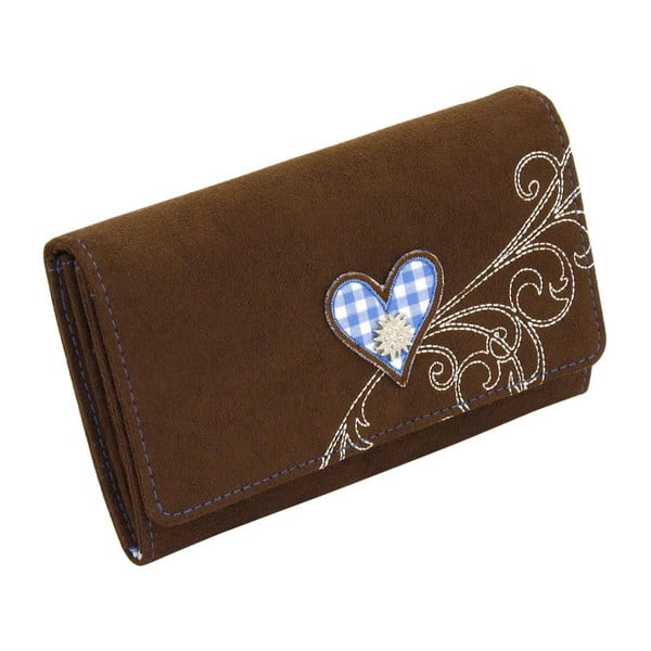 Dámská peněženka Bavaria Brown/Blue