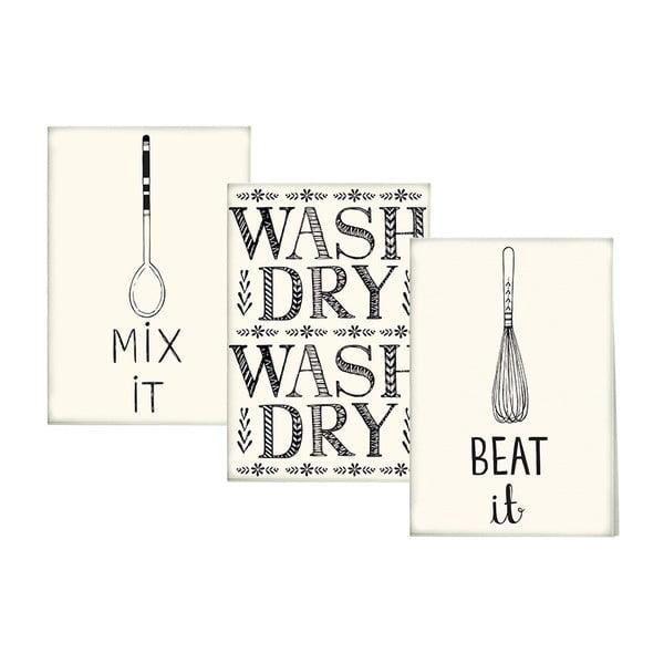 Stir It Up 3 darab pamut konyharuha - Creative Tops