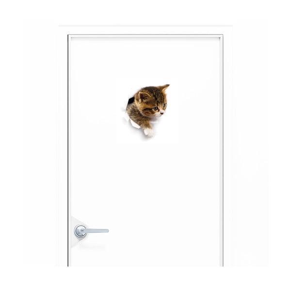 Autocolant Ambiance Hiding Cat