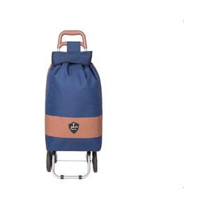 Modrá nákupní taška na kolečkách INFINITIF Chariot de Marché