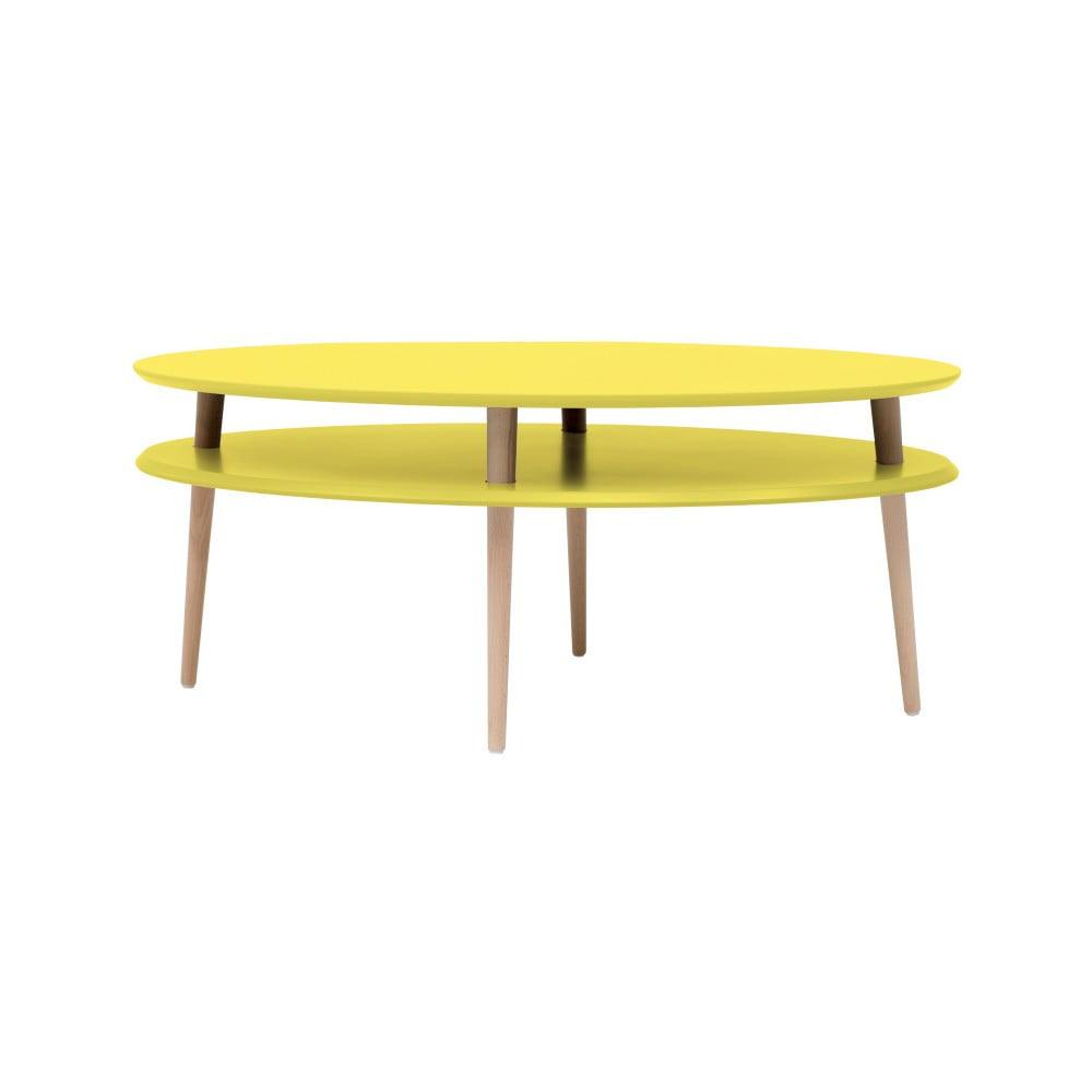 Žlutý konferenční stolek Ragaba OVO