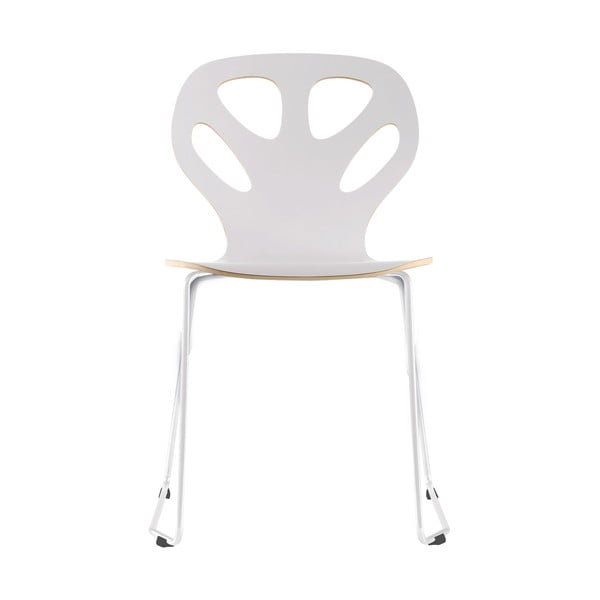 Židle Maple, bílá