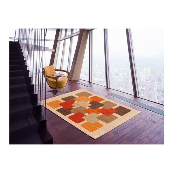 Hnědobéžový koberec Universal Boras, 160x230cm