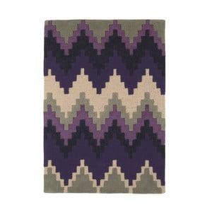 Vlněný koberec Cuzzo Purple 120x170 cm