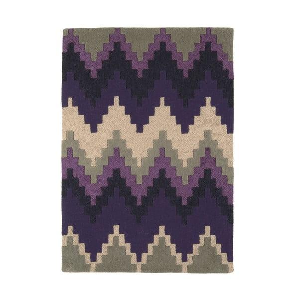 Vlněný koberec Cuzzo Purple 160x230 cm