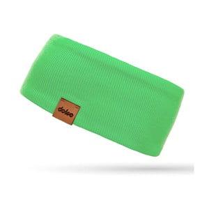 Zelená úpletová čelenka DOKE