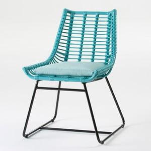Tyrkysová židle Thai Natura Angular