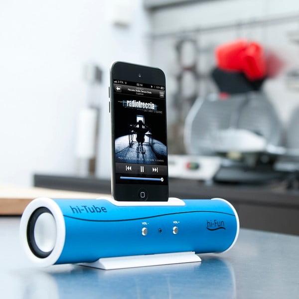 Přenosný reproduktor Hi-Tube, modrý