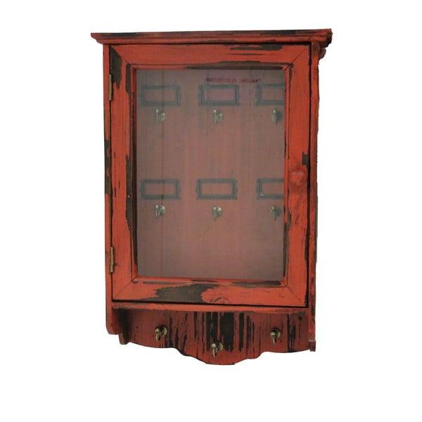 Skříňka na klíče Clés Rouge, 30x50 cm