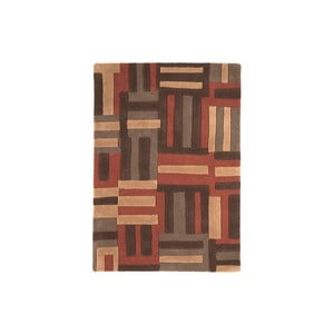 Vlněný koberec Code Terra, 120x170 cm