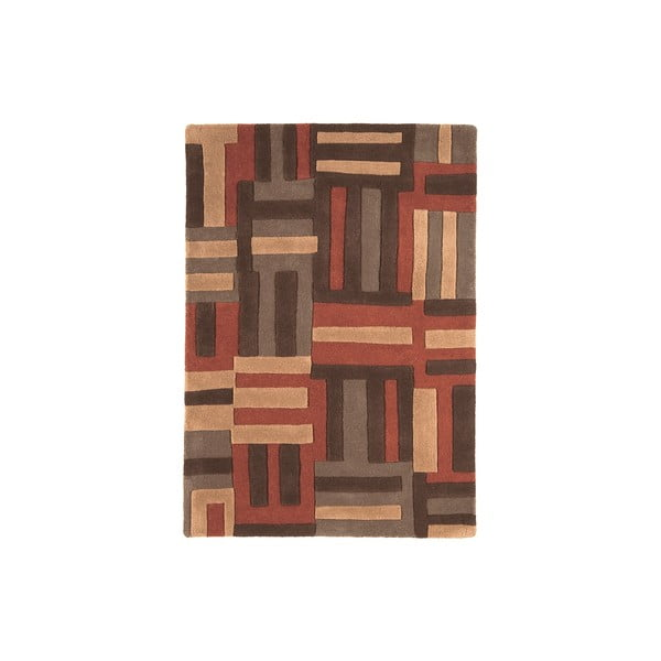 Vlněný koberec Code Terra, 200x300 cm