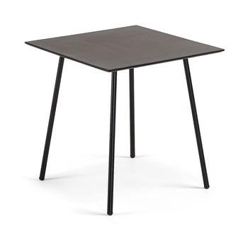 Masă La Forma Ulrich, 75 x 75 cm, negru imagine