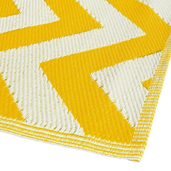 Koberec Aiko 120x180 cm, žlutý