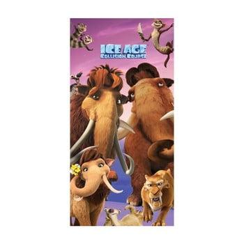 Prosop din bumbac pentru copii Halantex Ice Age, 70 x 140 cm