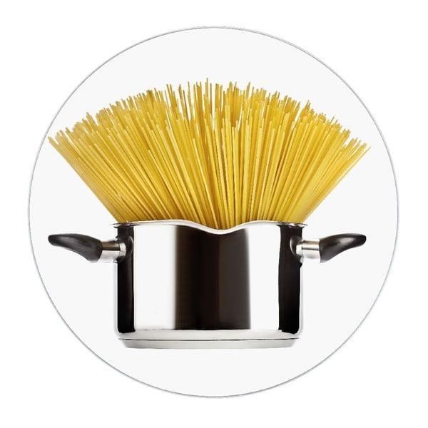 Skleněná podložka pod hrnec Wenko Spaghetti