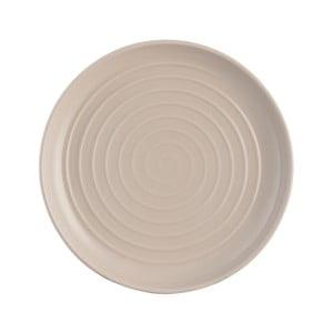 Béžový dezertní talíř z kameniny Mason Cash Spira, ⌀ 21 cm