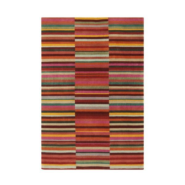 Vlněný koberec Jacob Red, 160x230 cm