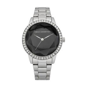 Stříbrnočerné dámské hodinky French Connection Dianne