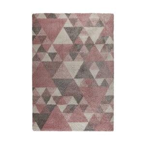 Růžovo-krémový koberec Flair Rugs Nuru, 80 x 150 cm