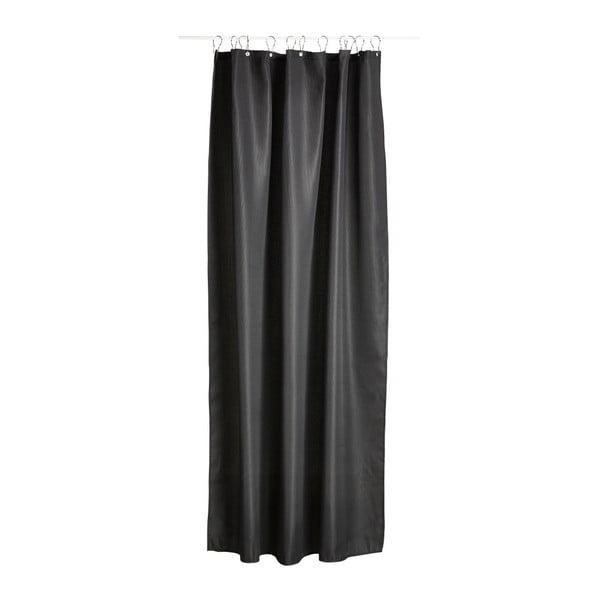 Černý sprchový závěs Zone Lux